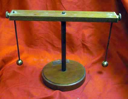 Antique Laboratory Stand For Electrostaic & Electrical Experiments ...