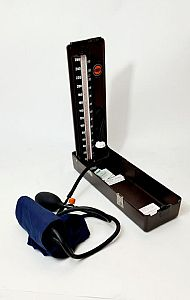 Period Sphygmomanometer (Blood Pressure) Metal Case