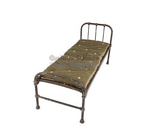 Period Bed With Horsehair Mattress
