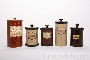 Group of Apothecary Jars