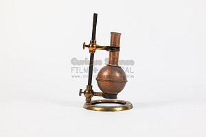 Copper Flask On Stand
