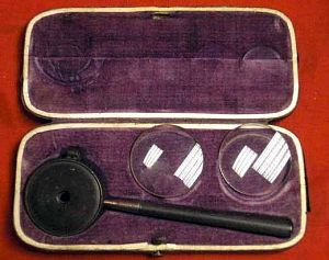 Antique Liebreich's Ophthalmoscope, Eye Examination