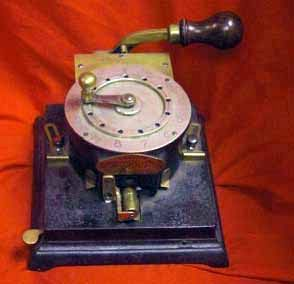 Antique Cheque Protection Machine, Office Fraud Prevention
