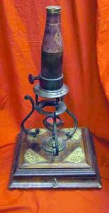 Antique Culpeper Microscope