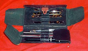 Antique Pocket Surgeon's or Physician's Set