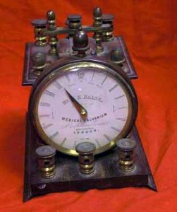 Antique Medical Electrical Shock Machine