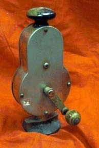 Antique Hand Cranked Blood Circulator Vibrator