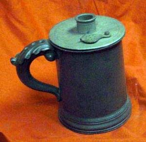 Antique Mudges Patent Pewter Inhaler