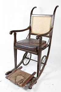 Period wheelchair