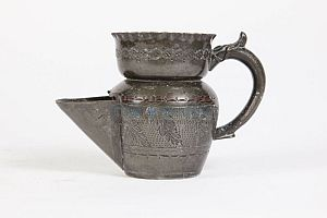 Pewter Shaving Mug