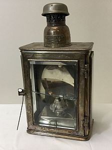 Large oil lamp