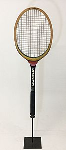 Giant tennis racquet