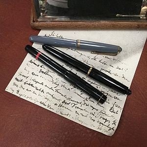 Vintage writing equipment