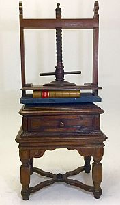 Large book press