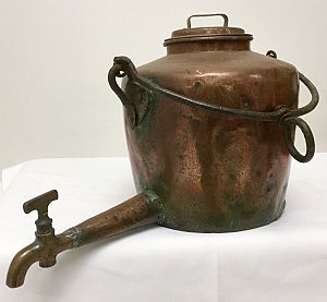 Copper kettle/urn