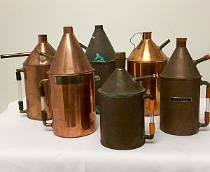 Copper steam generators
