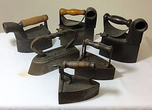 Vintage irons