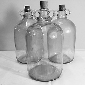 Gallon demijohns