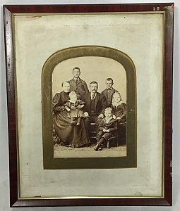 Victorian family photograph