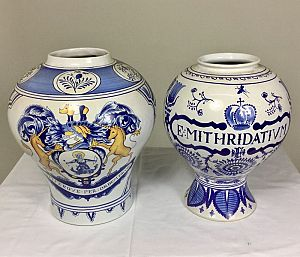 Large apothecary jars