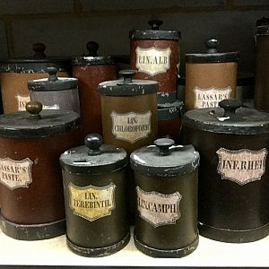 Pharmacy jars