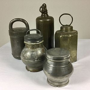 Pewter vessels