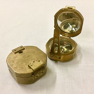 Mirrored Surveyors Compass