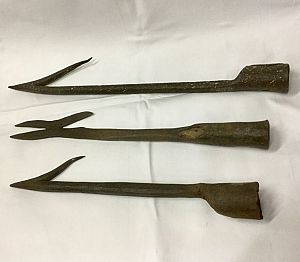 Wrought Iron Harpoon Heads