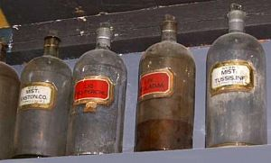 Large chemist bottles