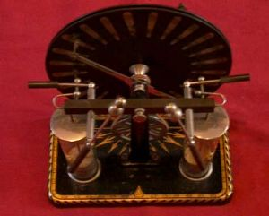 Enamel Wimshurst machine