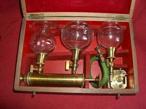 Cupping set 19th c