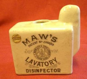 Lavatory disinfector 19th c