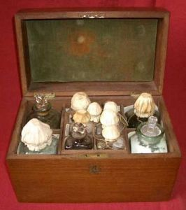 Early 19th C Medicine Chest
