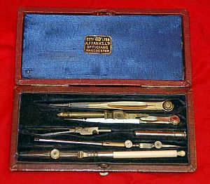Drawing, Drafting Set