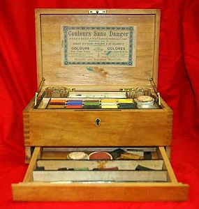 Water Colour Paint Box