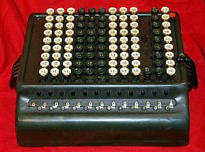 Adding Machine, Comptometer
