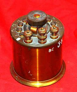 Brass Cased Electrical Potentiometer, Shunt