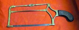 Antique Medical Surgical Amputation Bow Saw, Dr Butcher's Pattern