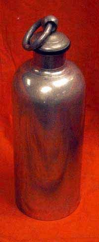 Early Metal Flask