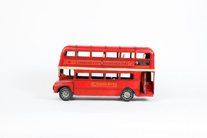 Toy London routemaster bus