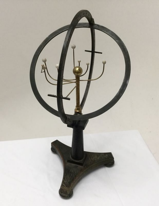 Tabletop orrery.