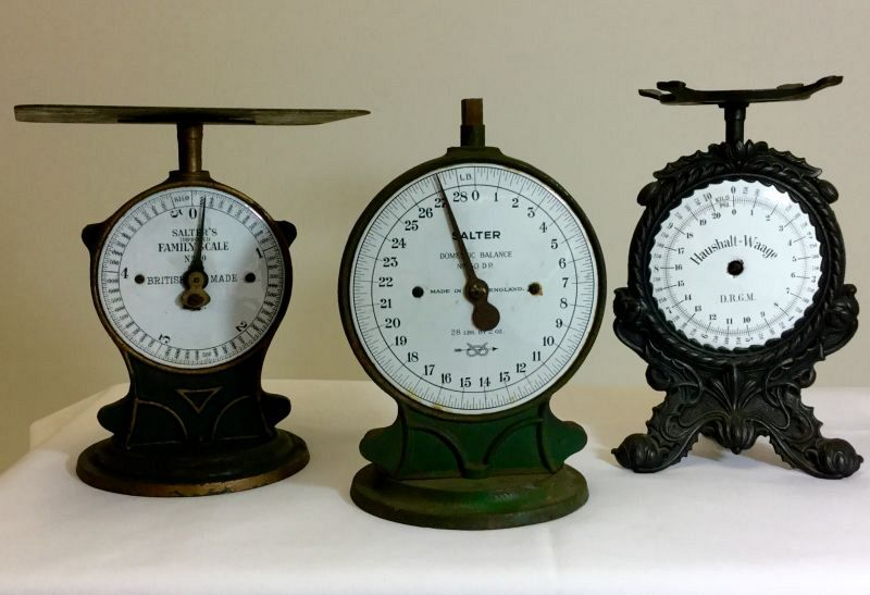 Cast iron scales