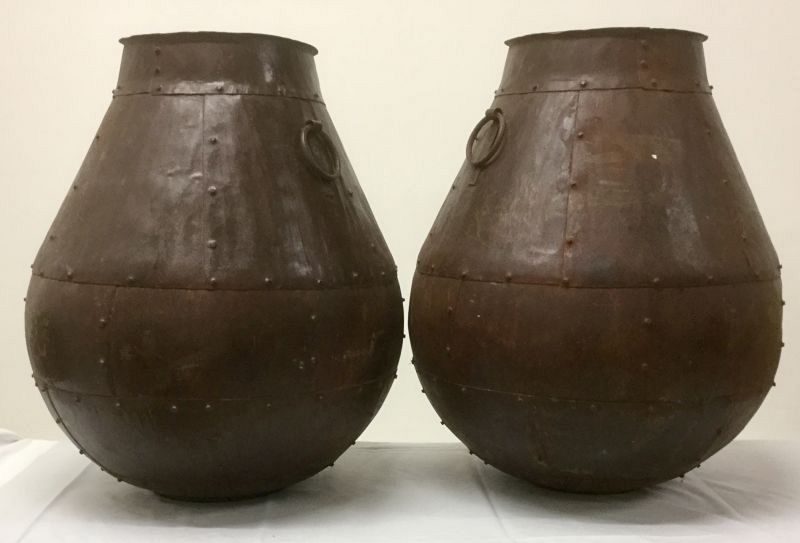 Riveted iron vessels