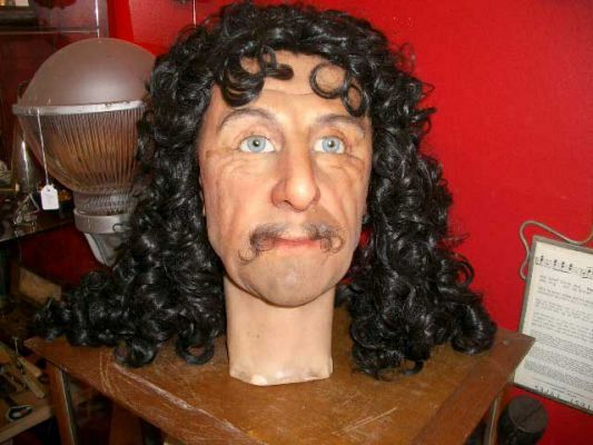 Wax head of Charles1