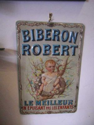 Baby Feeder  Advertising Sign